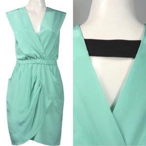 Donna Morgan Teal Dress